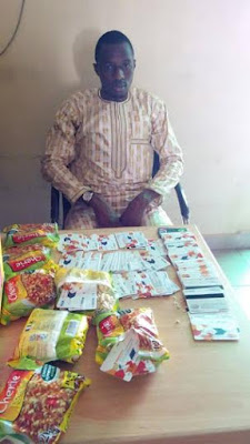 Nigerian in EFCC custody for ATM racketeering (See Photos)