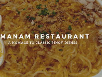 Manam Comfort Filipino: a homage to classic Pinoy dishes