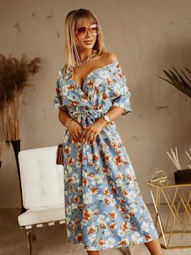 Wholesale7 długa sukienka