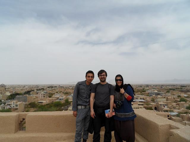 Visitar MEYBOD - E o homem do dia é... Habas! | Irão