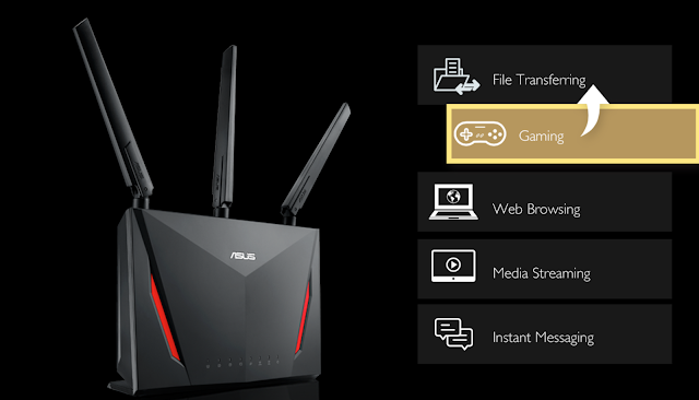 Mobile Game Router RT-AC86U