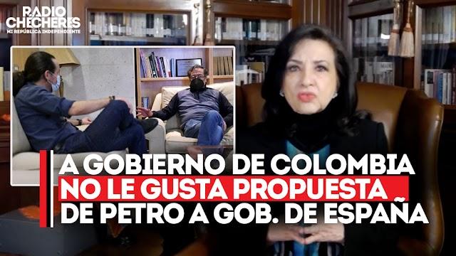 A Gobierno de Colombia no le gustó propuesta de #Petro de donar excedentes en vacunas del Gobierno de España