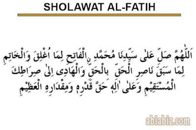 sholawat al fatih