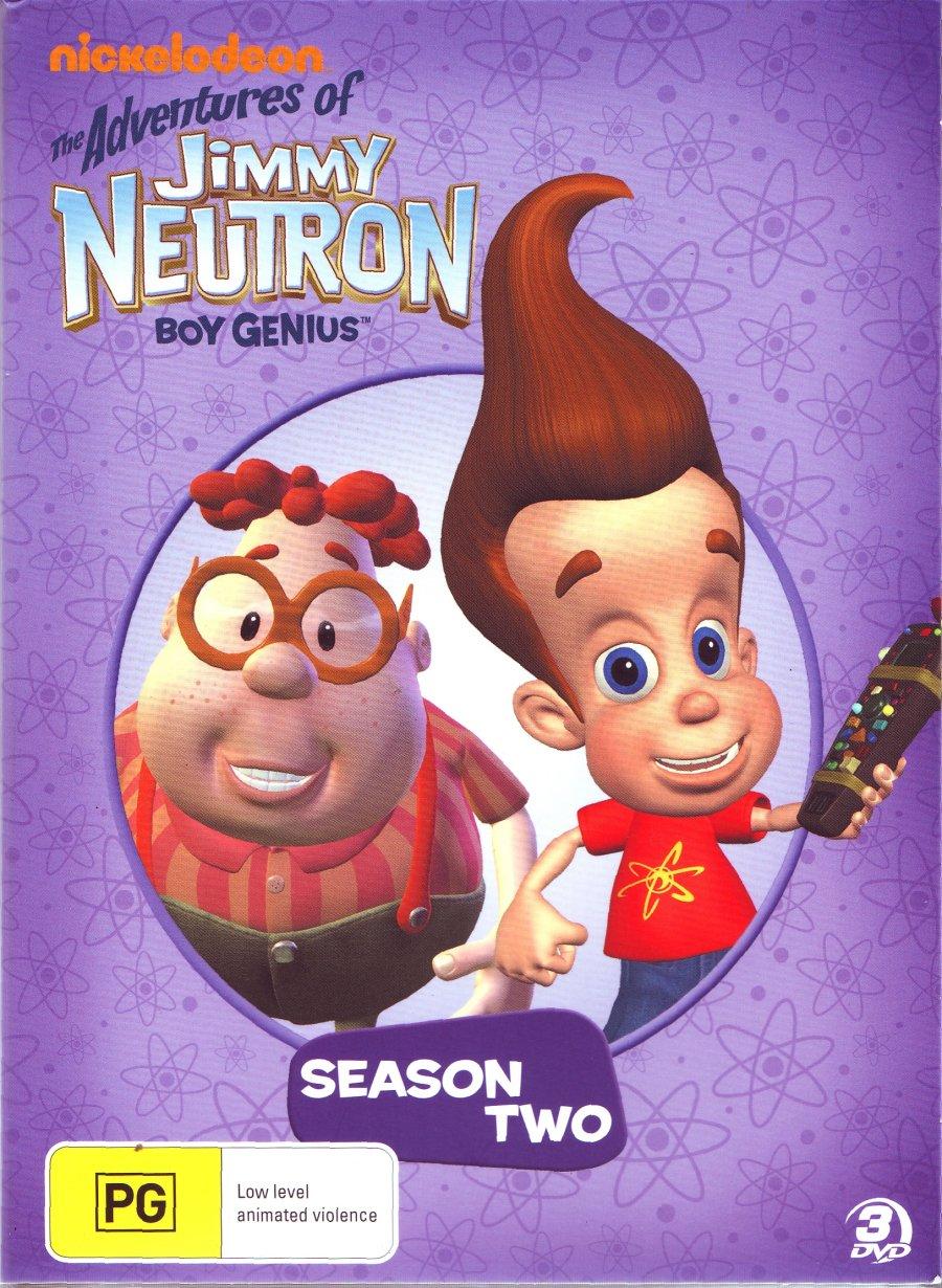 Jimmy Neutron Temporada 2 DVDRip Dual Latino/Ingles