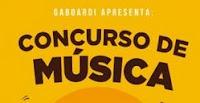 Concurso de Música Gaboardi na Caixinha de Fósforos
