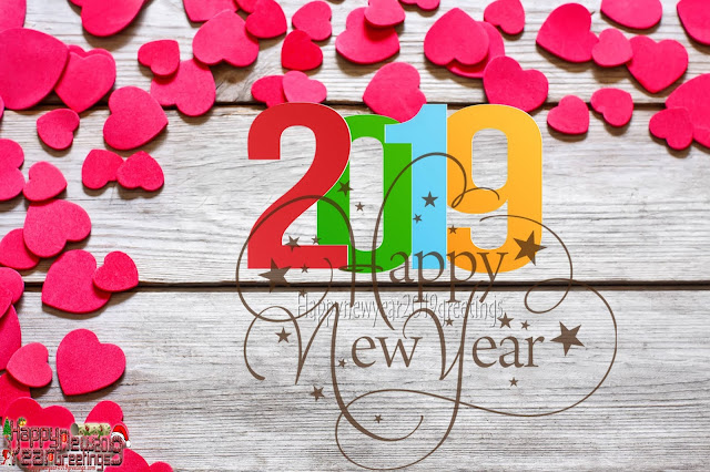 Happy New Year 2019 Love Photo Wishes Greetings