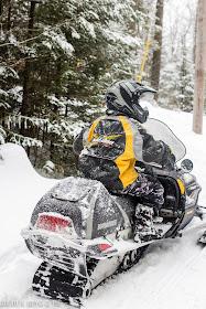 Snowmobile fun in the Adirondacks