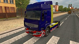 Heavy Transport skins for Renault trucks
