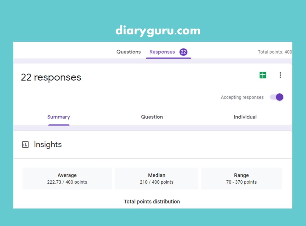 Cara Mengembalikan Respon Atau Jawaban Google Form Yang Terhapus Diary Guru