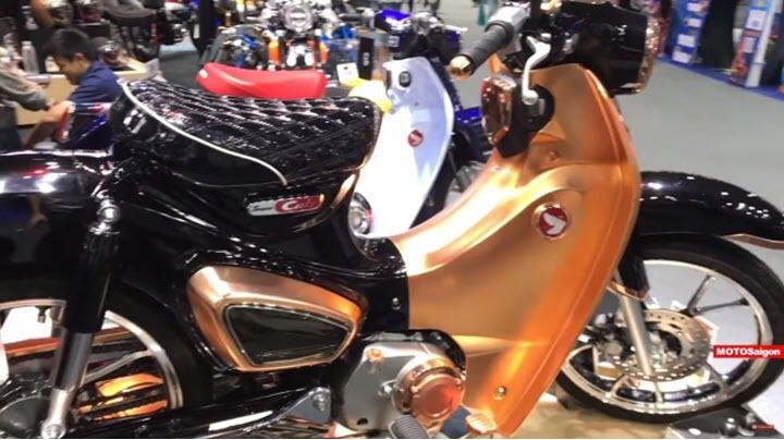 Honda Super Cub C125 Black Gold cực độc có một không hai khiến tất cả phải thèm thuồng