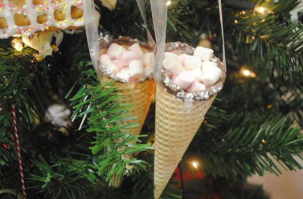 décoration de noel comestible