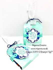 Nigezza Creates a Stampin Up Follow Your Art Customer Thank You Treat