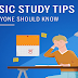 Basic Study Tips Everyone Should Know #infographic