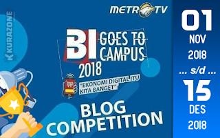 Kompetisi Blog - Bank Indonesia Berhadiah Total Uang Tunai 31 Juta Rupiah