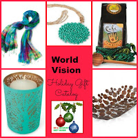 holiday gifts, World Vision, gifts that give back