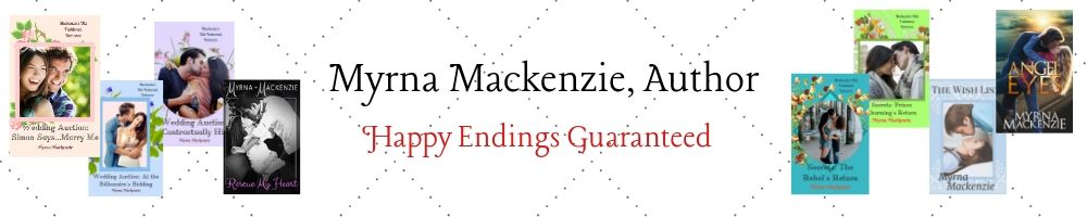 Author Myrna Mackenzie: Happy Endings Guaranteed