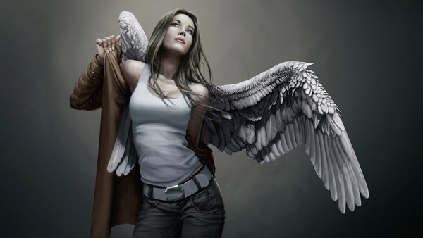 Pictures of Angels Digital Art HD Widescreen