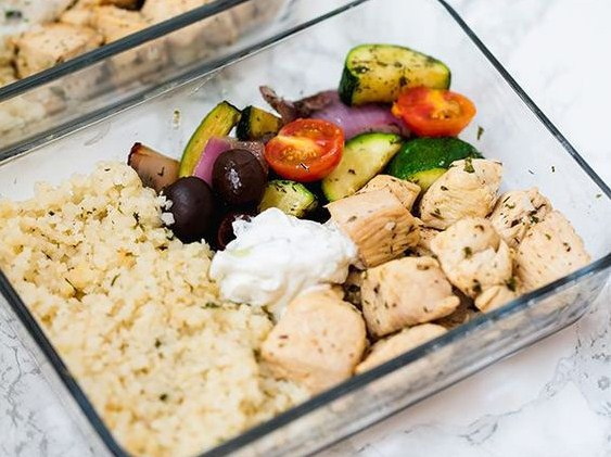 One Pan Greek Chicken Meal Prep (Paleo, Whole30, Keto, AIP)