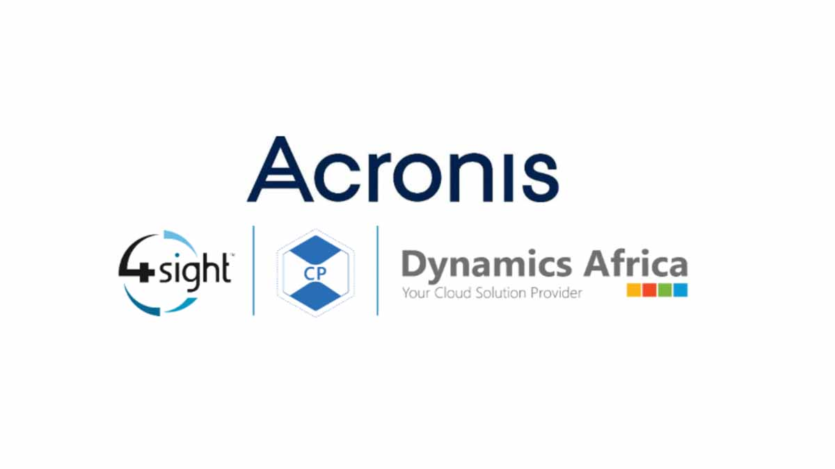 Acronis appoints 4Sight Dynamics Africa as its new Cloud Distributor in Central Europe, Middle East and Africa, continuing its rapid expansion in emerging markets