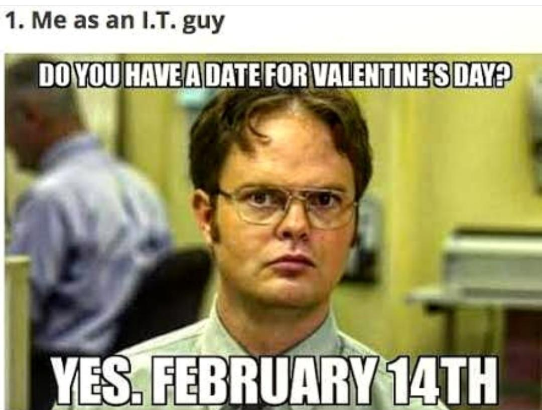 Valentine's Day Funny memes 2020