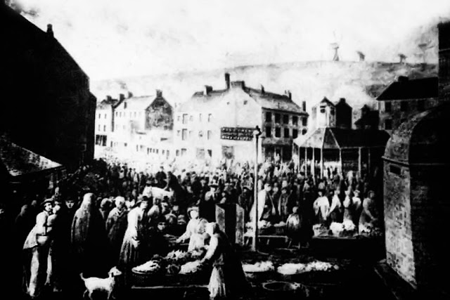 Whitehaven Market, With Lock-Up For Prisoners