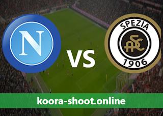 بث مباشر مباراة سبيزيا ونابولي اليوم بتاريخ 08/05/2021 الدوري الايطالي