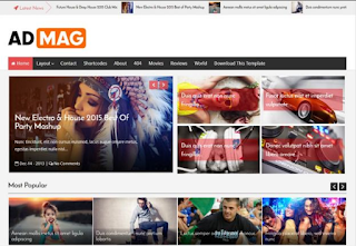 Ad-Mag-template-blogger