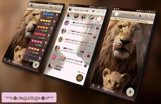 Lion King Theme For YOWhatsApp & Fouad WhatsApp By Nanda