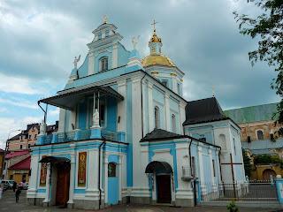 Самбор. Львовская обл. Церковь Рождества Пресвятой Богородицы