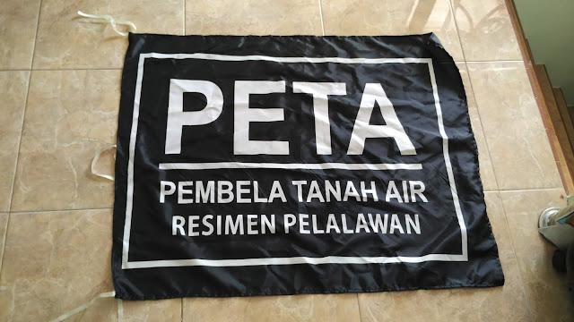 Bendera PETA