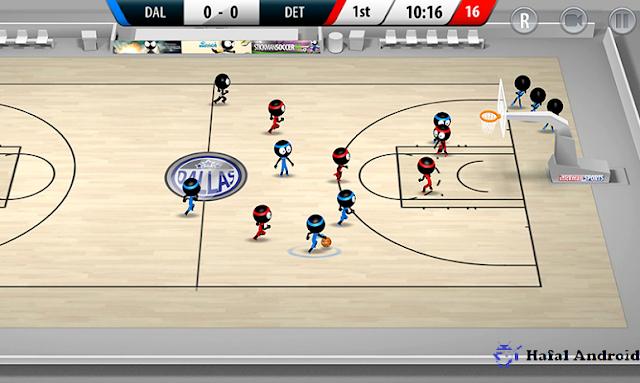Stickman Basketball Android