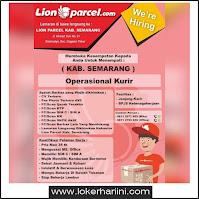Lowongan Kurir Semarang di Lion Parcel Terbaru 2021