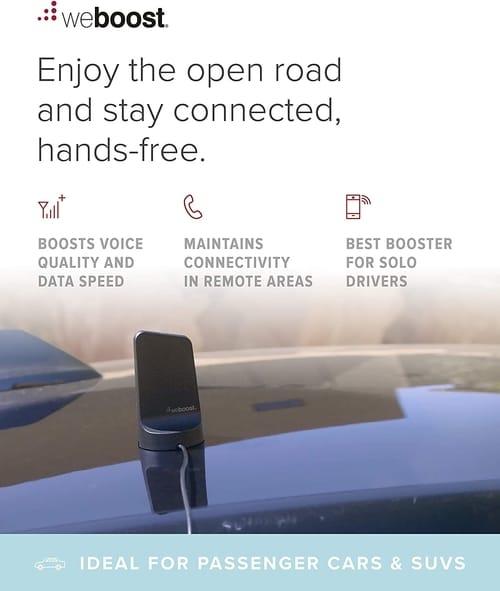 weBoost Drive Sleek 470135 Vehicle Cell Phone Signal Booster