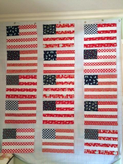 Cozy Little Quilts: 4th of July and Camping : stars and stripes quilt - Adamdwight.com