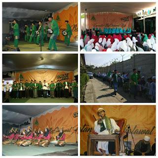 Hari Santri, Ansor Bandung Barat Gelar Kegiatan Sholawat di Ngamprah