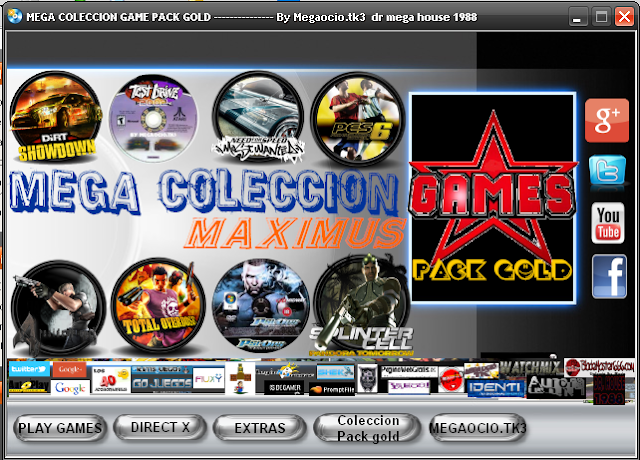Mega coleccion games (Pak Gold)