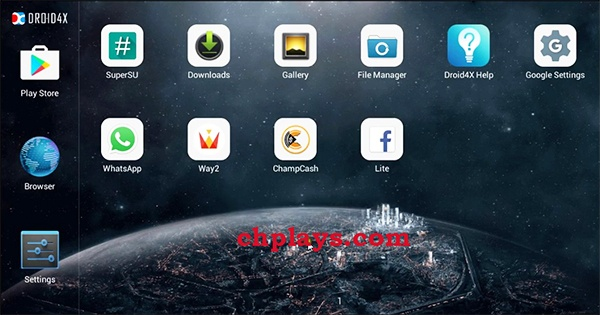 Download Droid4X - Phần mềm giả lập Android nhẹ trên máy tính a