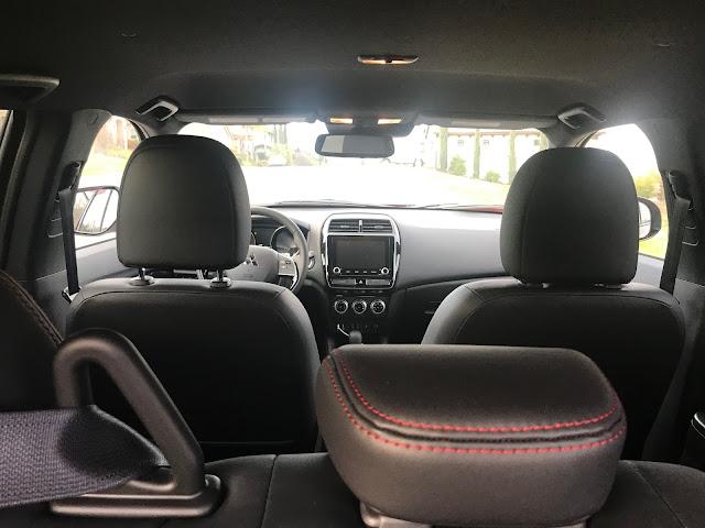 Interior view of 2020 Mitsubishi Outlander Sport 2.4 GT AWC