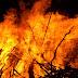 फ्लैक्स शाॅप में अाग लगने से मशीन समेत सामान जला