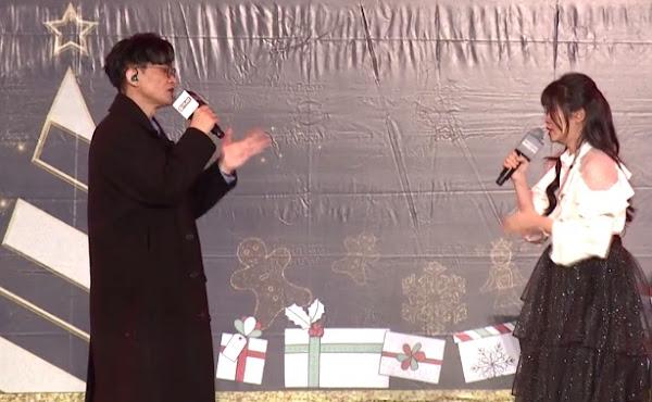 卓義峯(左)鄭怡琳琳琳合唱默契十足,粉絲陶醉喊師徒CP