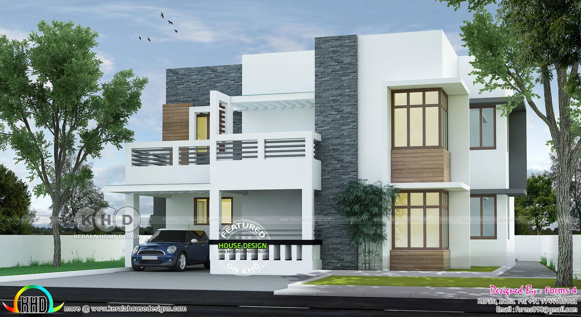 Below 35 Lakhs Simple Contemporary Style Kerala Home