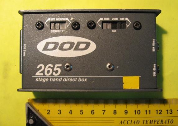 fungsi direct box untuk gitar