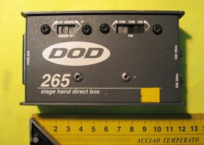 Mengetahui fungsi DI Box Gitar