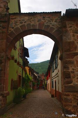 Il centro storico di Kaysersberg