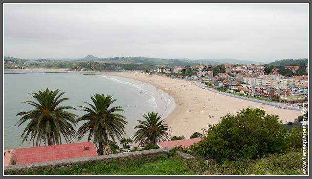 Playa de la Concha en Suances (Cantabria)