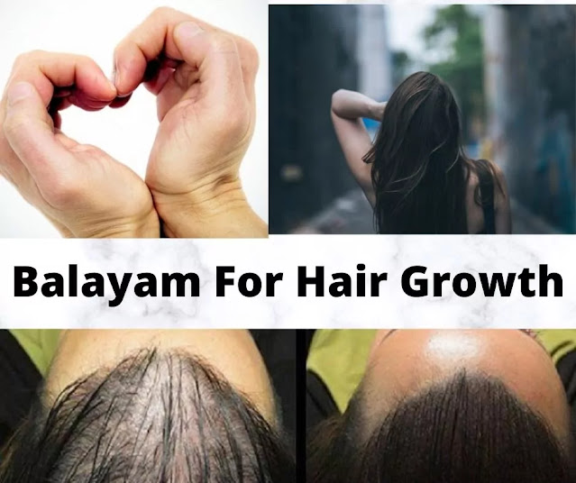 Balayam for hair growth