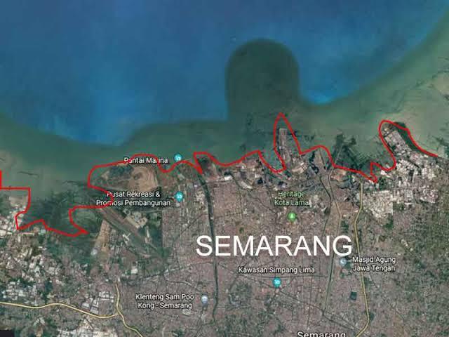 Bukan Jakarta, Hasil Riset Lembaga Kebencanaan IA-ITB Temukan Fakta Wilayah Jateng Yang Berpotensi Tenggelam