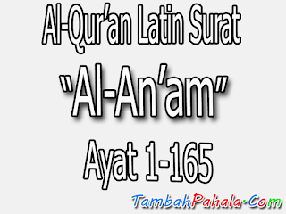 latin surat al-an-am, latin, al-Qur'an, teks latin