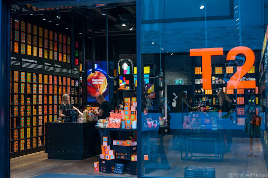 Shop: T2 tea, Bullring