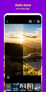 تطبيق Adobe Photoshop Camera  لتعديل الصور متوفر الآن مجانا  للأندوريد وiOS
